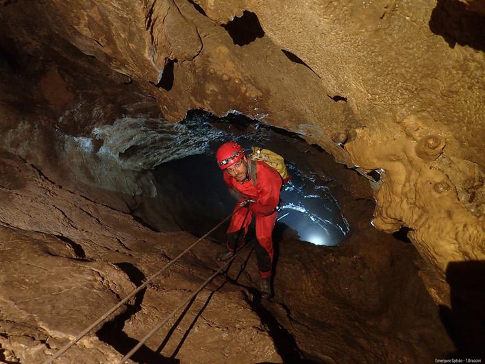 Grotte de la Bouhadère ©Envergure Speleo