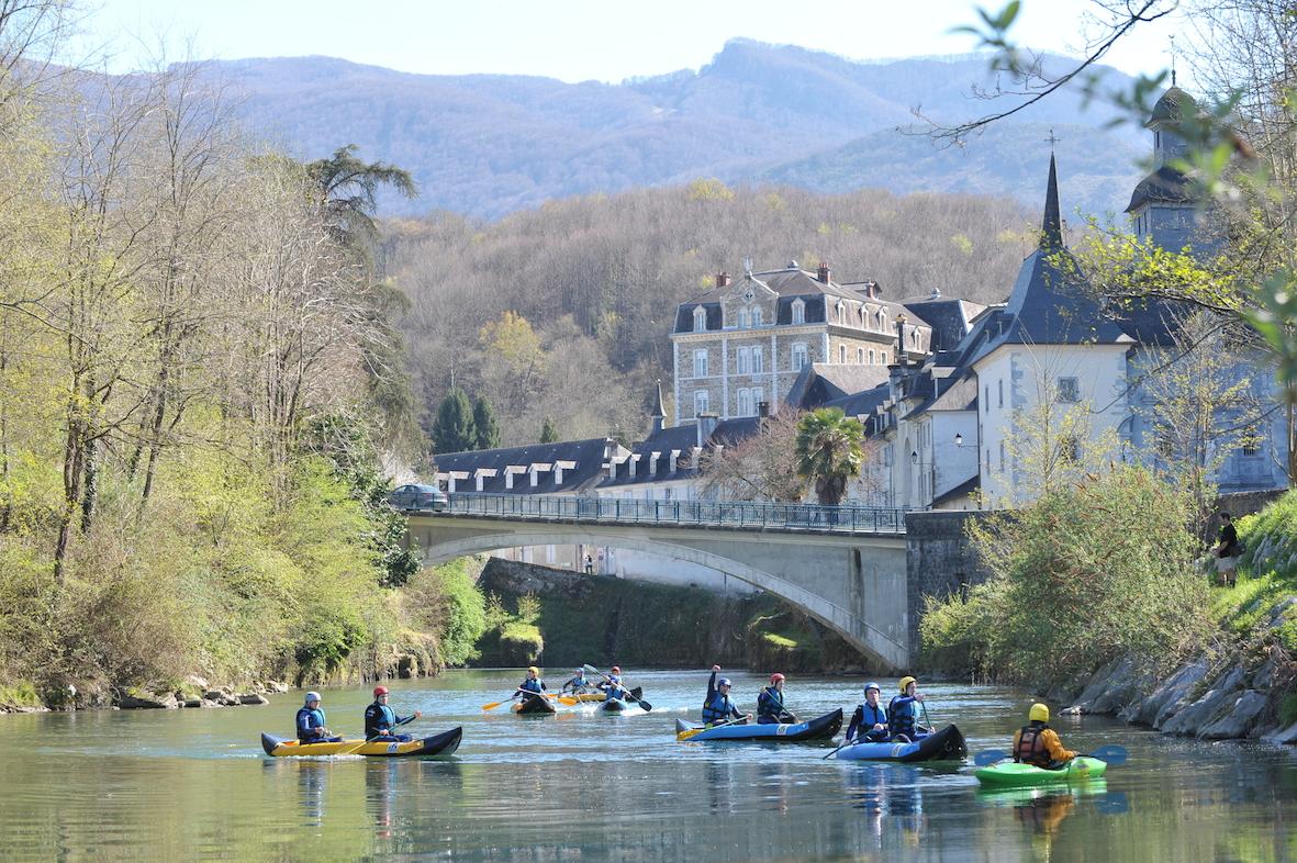 Rafting et kayak saint p de bigorre dans les hautes pyr n es office de tourisme de saint p - Office tourisme hautes pyrenees ...
