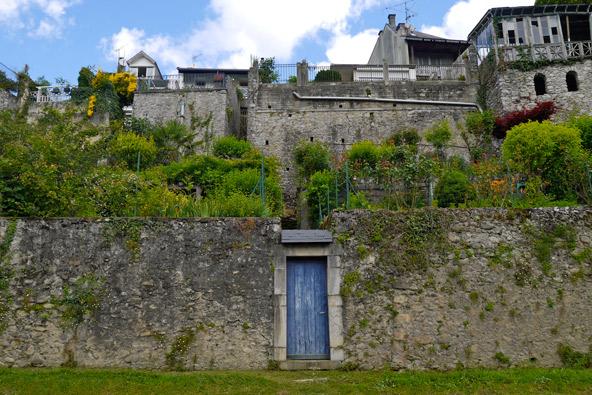 Maisons avec jardins en terrasse