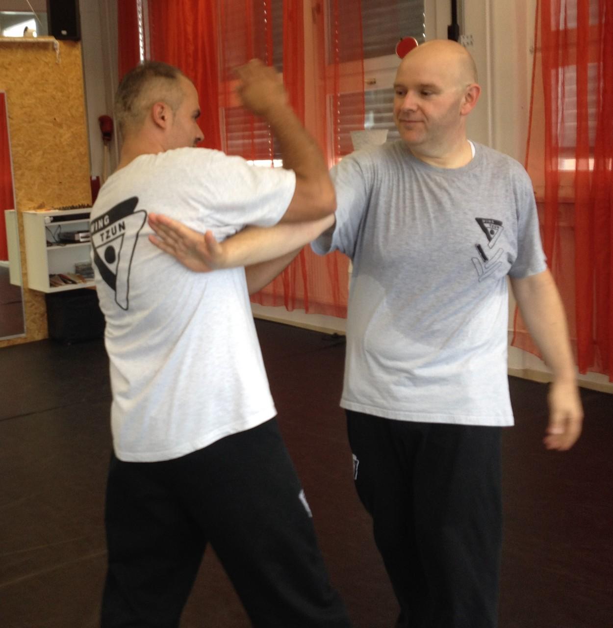 Wing Tsun Selbstverteidigung Ludwigsburg - Seminar 20. Juni 2015_11