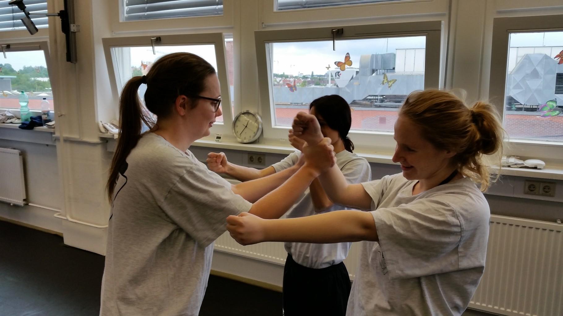 Wing Tsun Selbstverteidigung Ludwigsburg - Seminar 20. Juni 2015_2