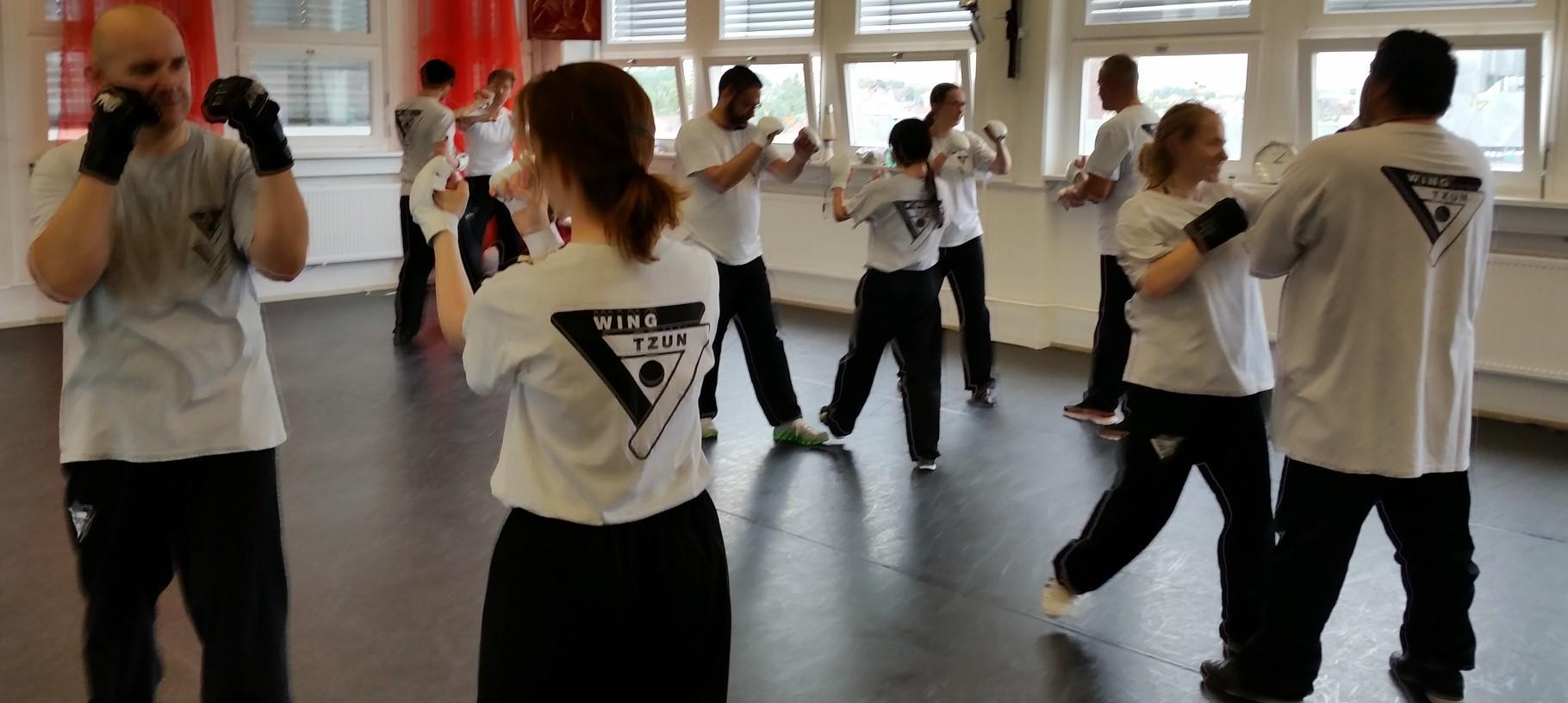 Wing Tsun Selbstverteidigung Ludwigsburg - Seminar 20. Juni 2015_5