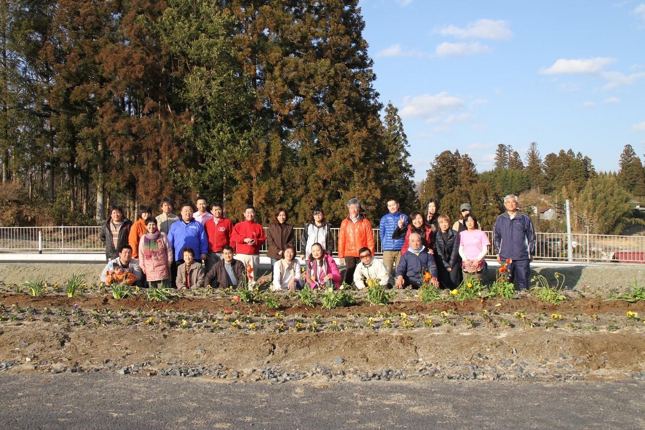 2012年お花プロジェクト AWA311様と共に