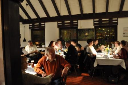 Mittelalter-Abend in der Gaststätte GiebelStuben - die Gäste
