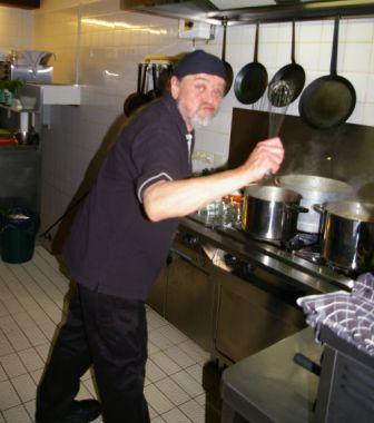...die Küche kann gerockt werden