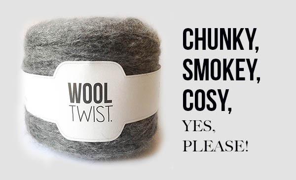 Neueste Kreation: Wooltwist Chunky Melange!