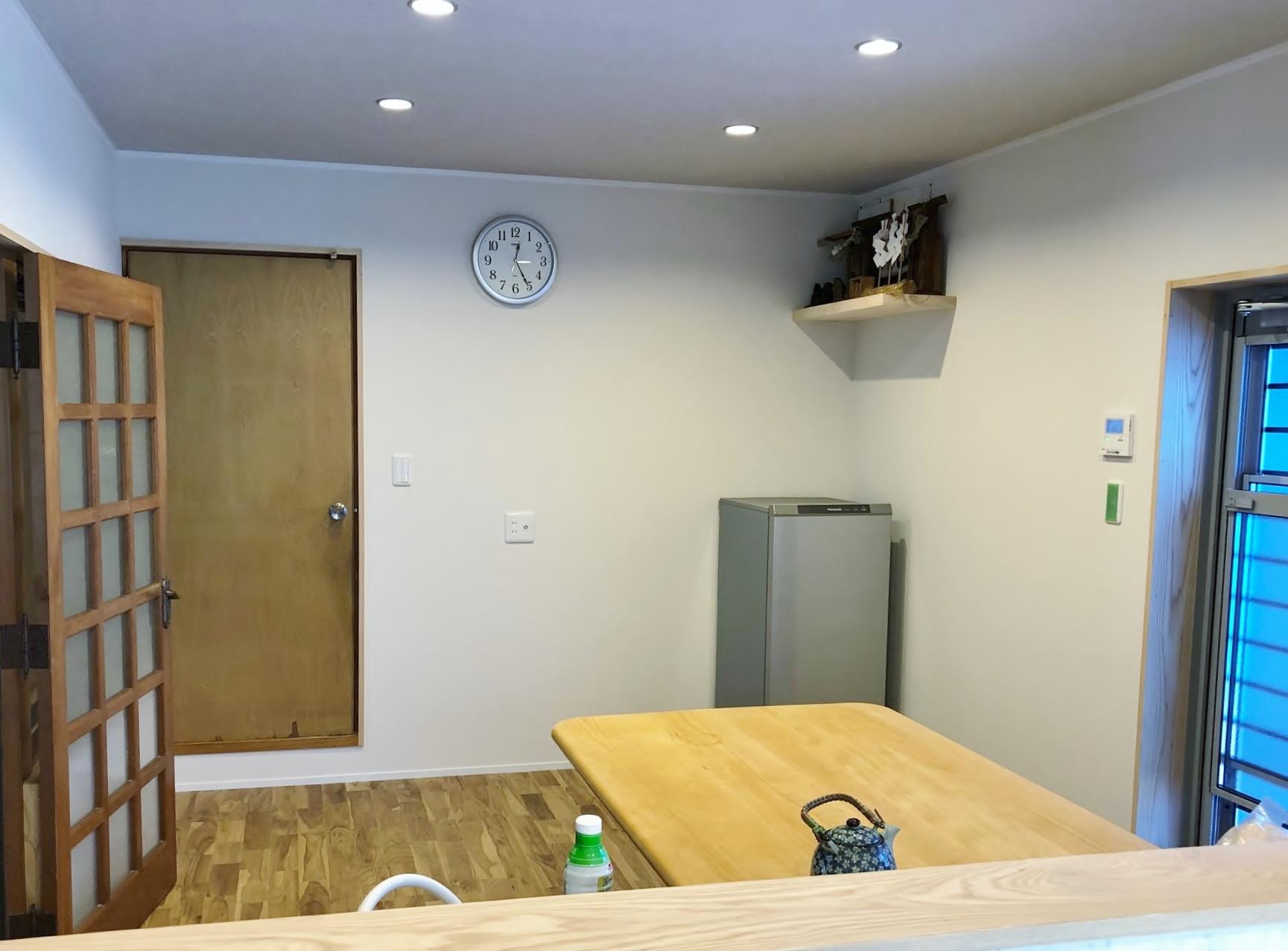 キッチン、ダイニング改修工事3