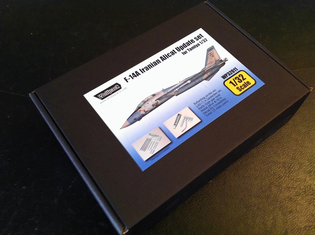 Wolfpack : F 14A Iranian Alicat update set - scale 1:32 for Tamya Kit