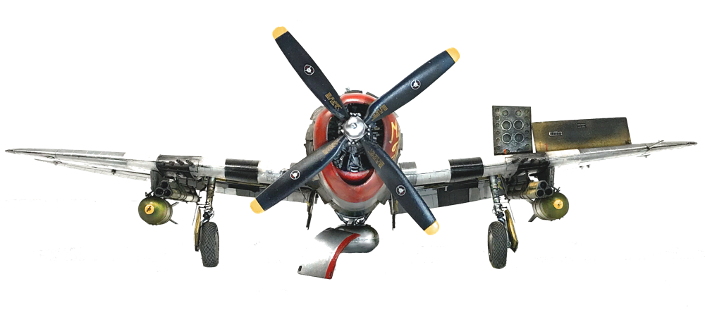 Republic P 47-D  Thunderbolt  - Trumpeter kit 1:32 scale model