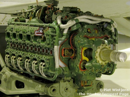 The Napier Sabre engine