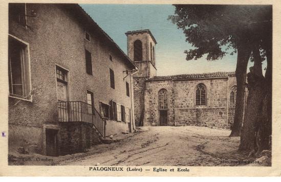 Place église - Palogneux