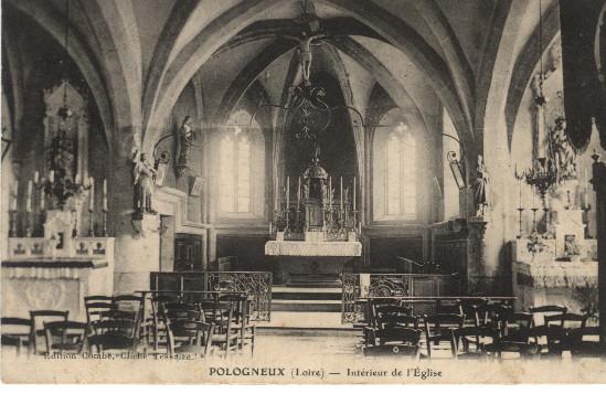 Intérieur église - Palogneux