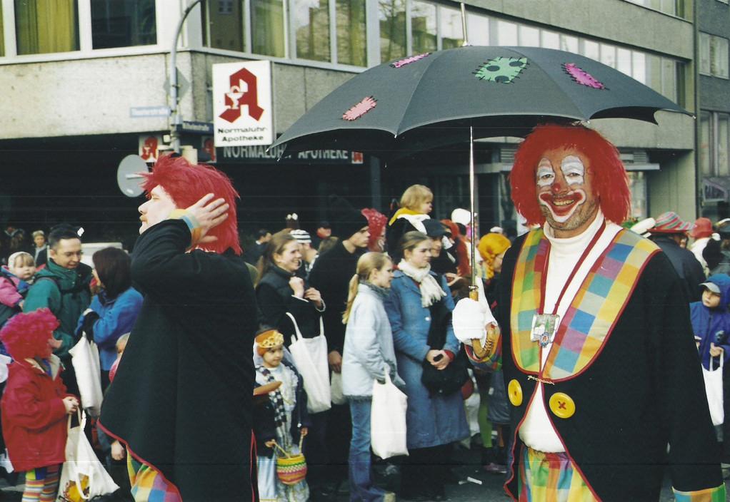 """Die Session 2002 / 2003 """" Karo - Clowns """""""