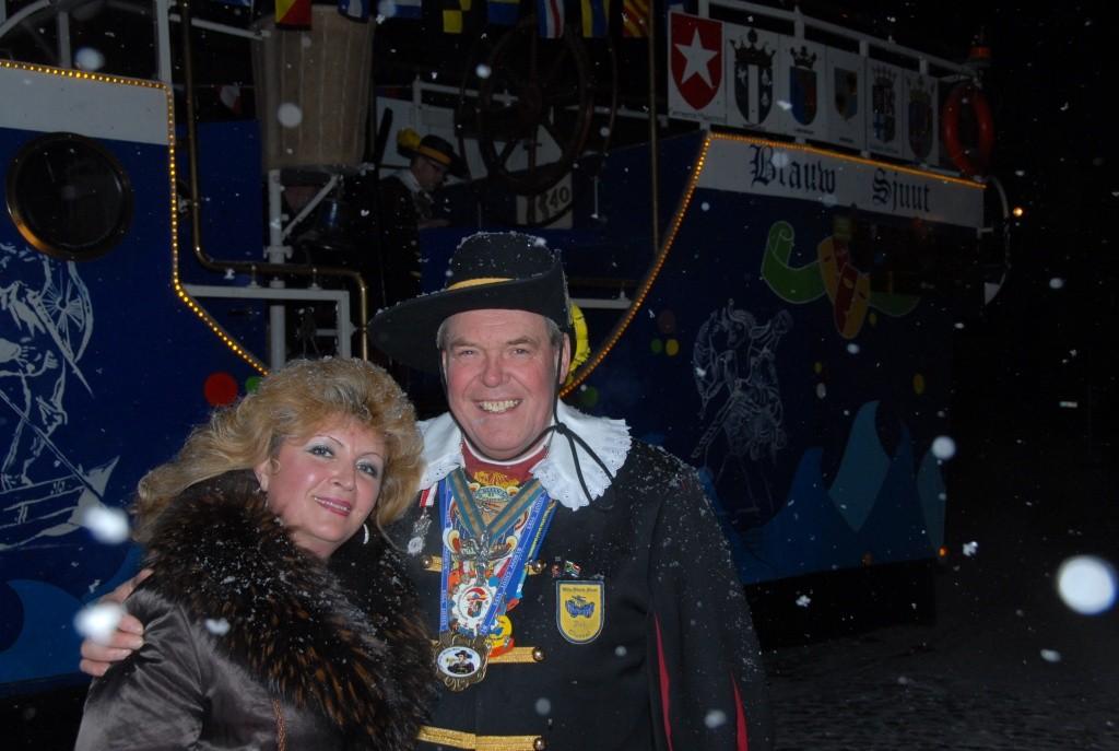 Der Empfang des Narrenschiffes aus Heerlen in Kornelimünster 2010