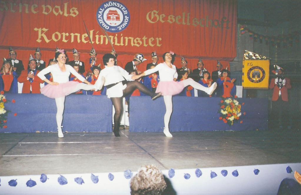 "Unsere erste Große Sitzung 1982: "" 11 Jahre Orjenal Mönster Jonge"""