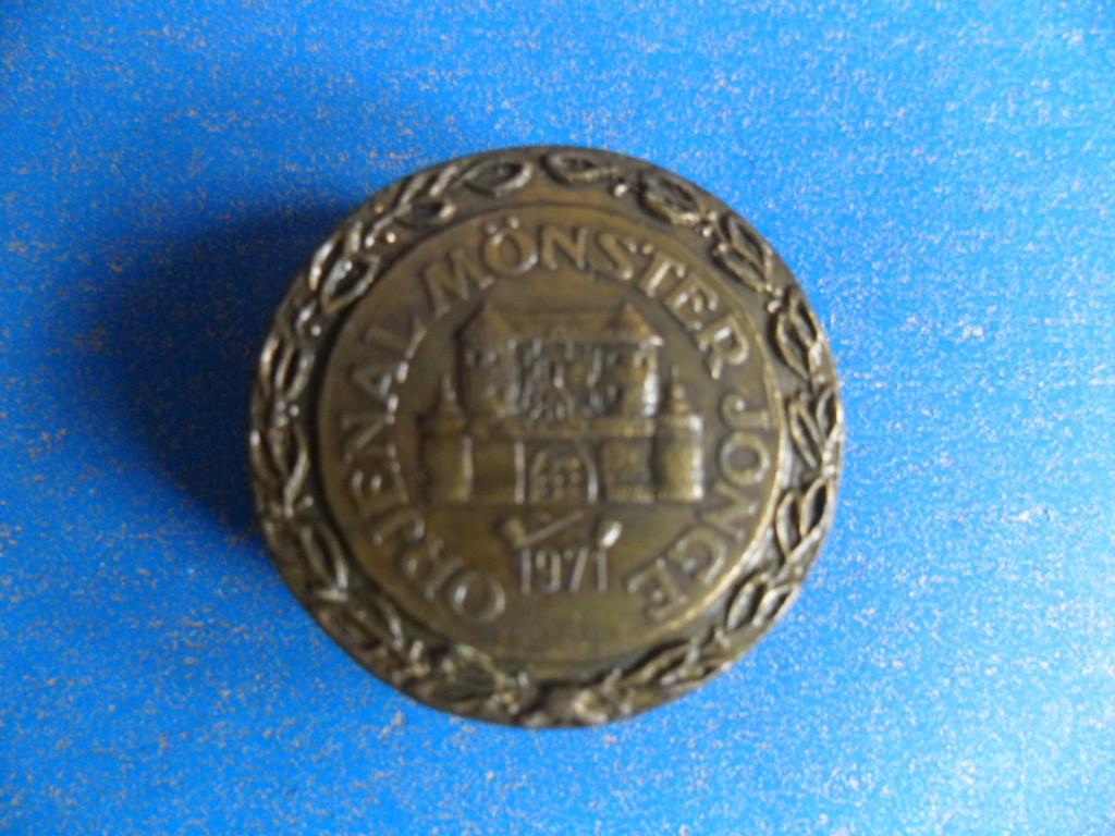 Ehrennadel in Bronze für 11 Jahre aktive Mitgliedschaft