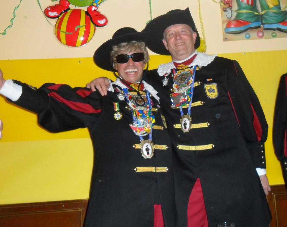 Der Empfang des Heerlener Narrenschiffes 15. Februar 2012