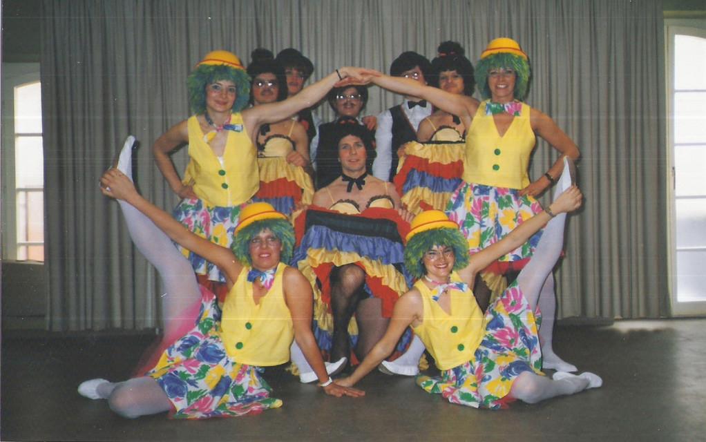 Jux- und Showtanz OMJ 1986