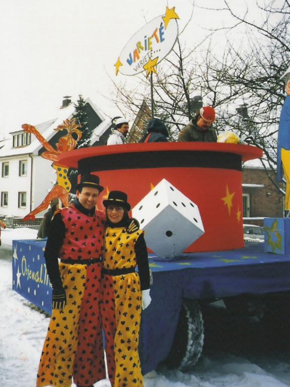 """Karnevalszüge 1986 """" Varieté, Varieté """""""