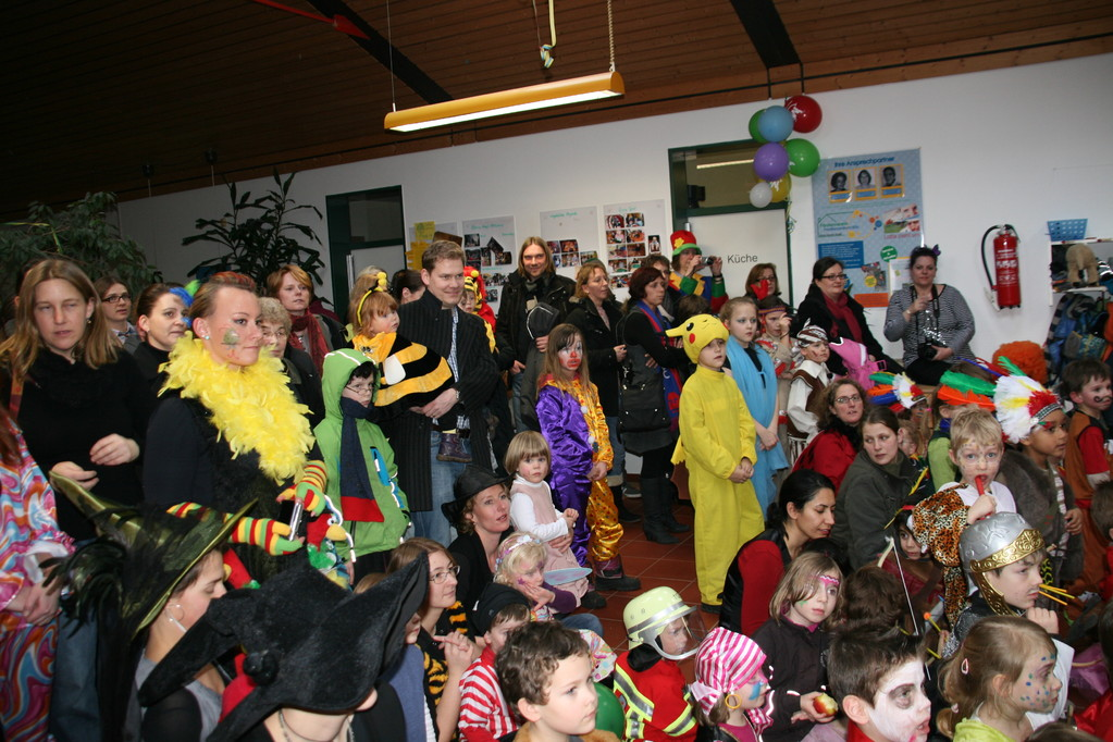Unser Besuch am Fettdonnerstag 2012 im Kindergarten in Kornelimünster