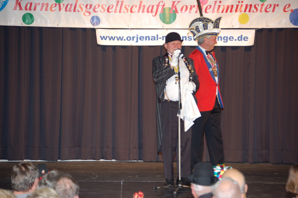 Seniorensitzung 21. Januar 2012