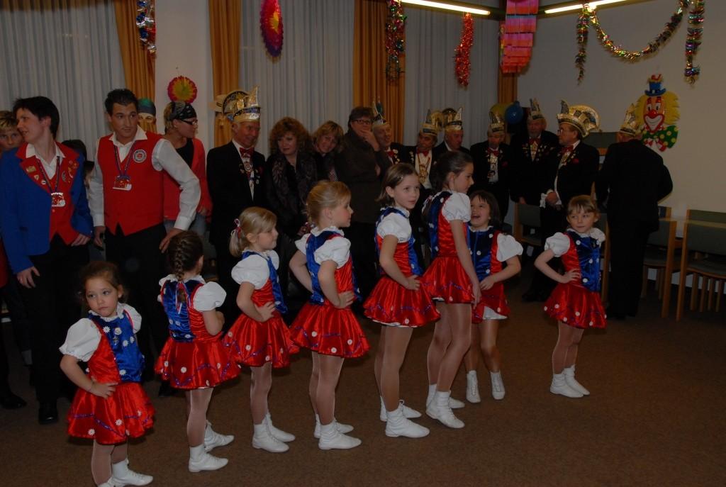 Empfang der Blauw Sjuut aus Heerlen 2008