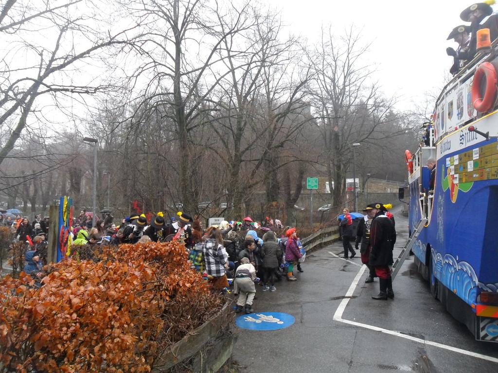 Der Besuch der Grundschule in Kornelimünster 16. Februar 2012