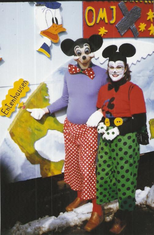 "Karnevalswagen 1984 ""Entenhausen"""