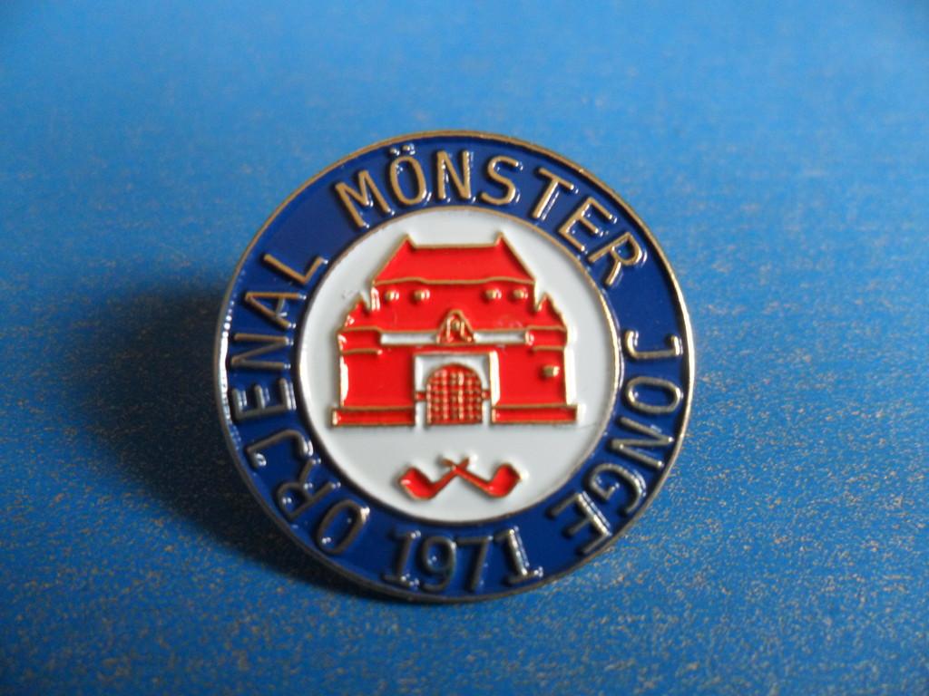 """Pin """" OMJ - Logo"""" 2011"""