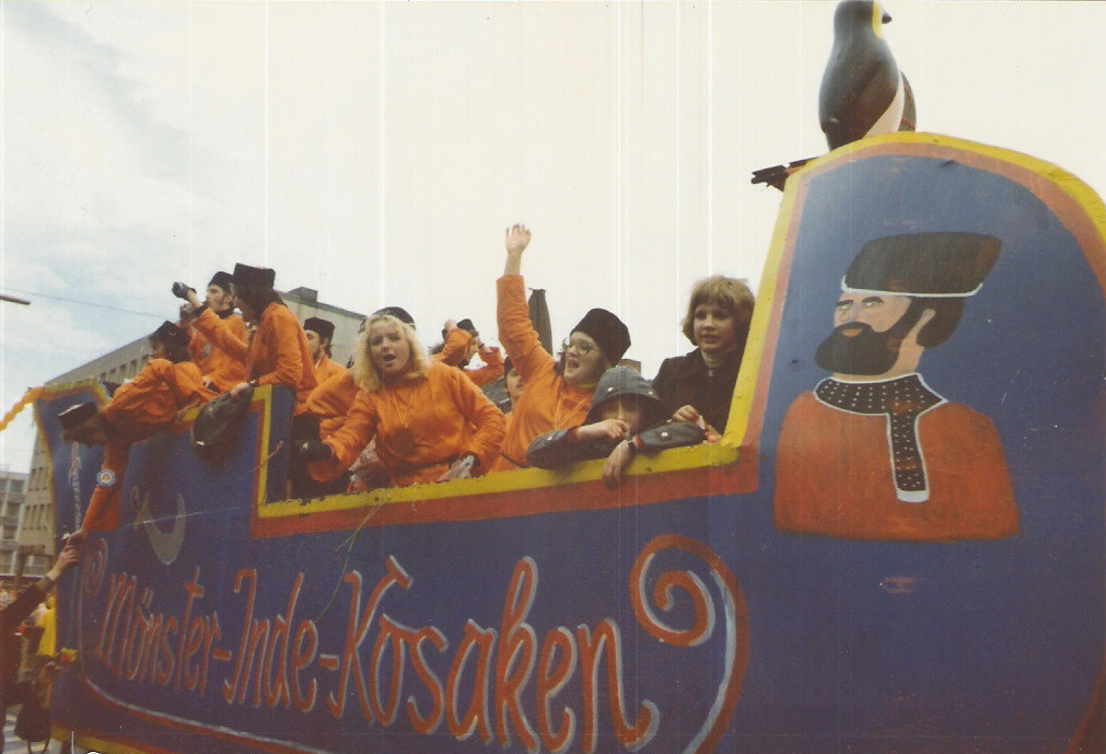 "Karnevalswagen 1977 ""Inde - Kosaken"""