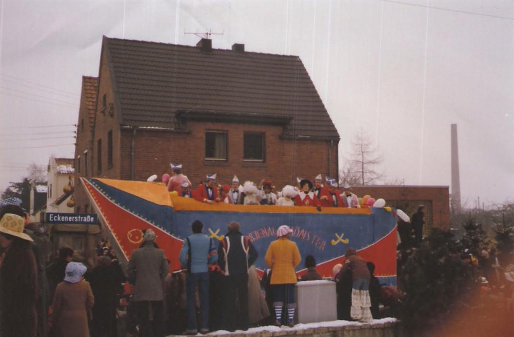 """Karnevalswagen 1979 """"Narrenkappe"""""""