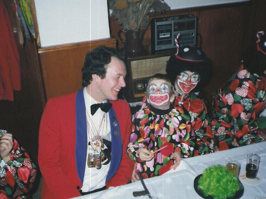 Karnevalsausklang nach den Zügen 1982