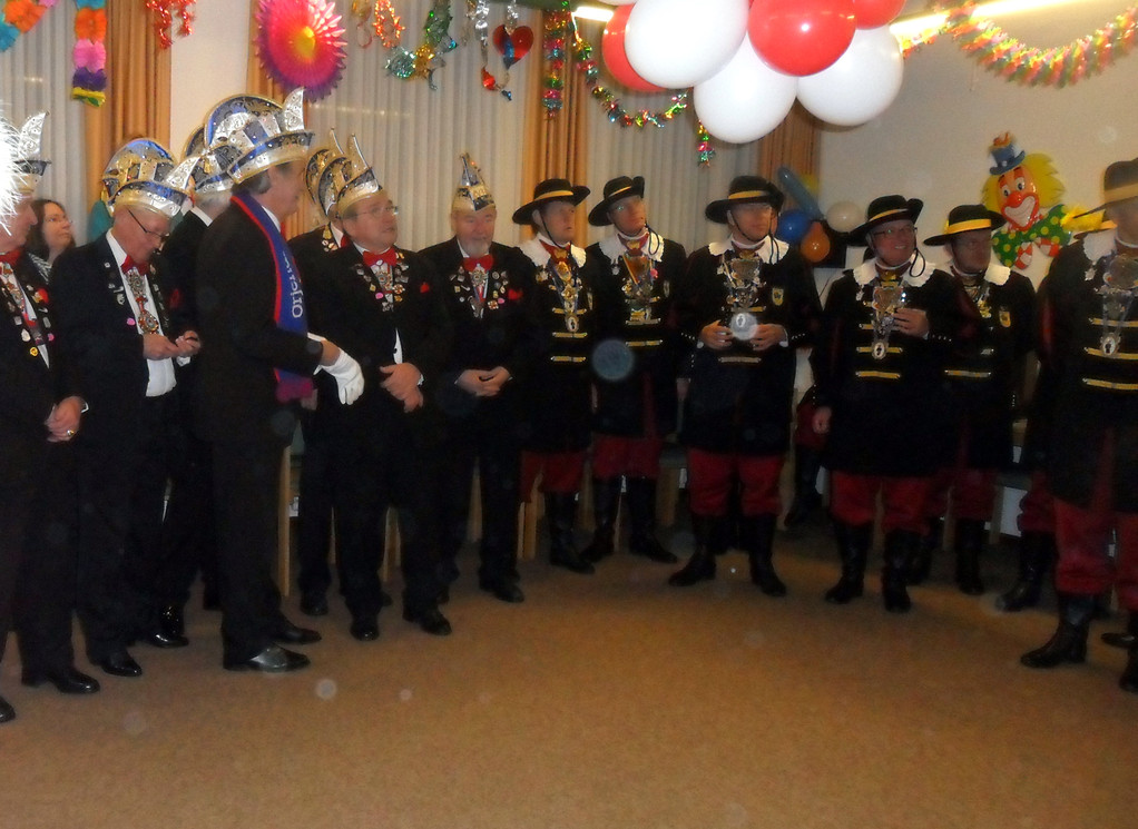 Der Empfang des Heerlener Narrenschiffes15. Februar 2012