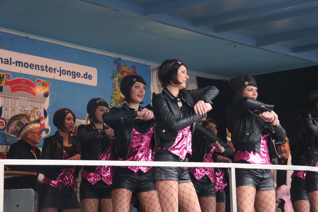 Unsere Community Dancer, Showtanz
