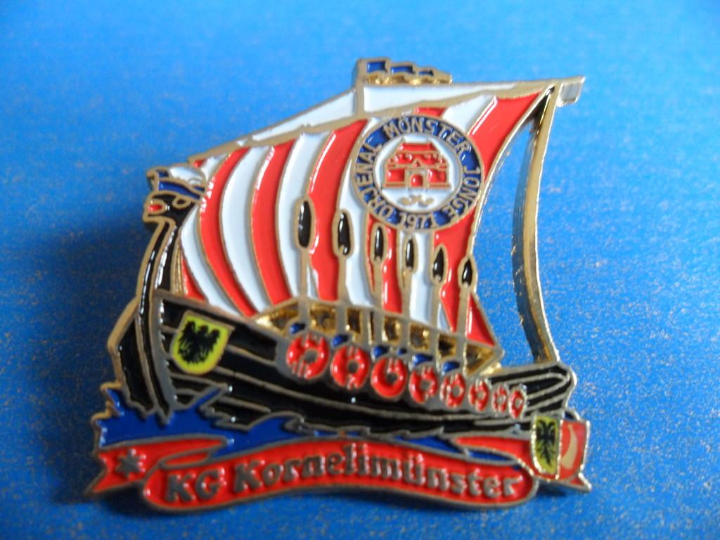 """Pin """"Wikinger - Wir sitzen alle in einem Boot"""" 2011"""