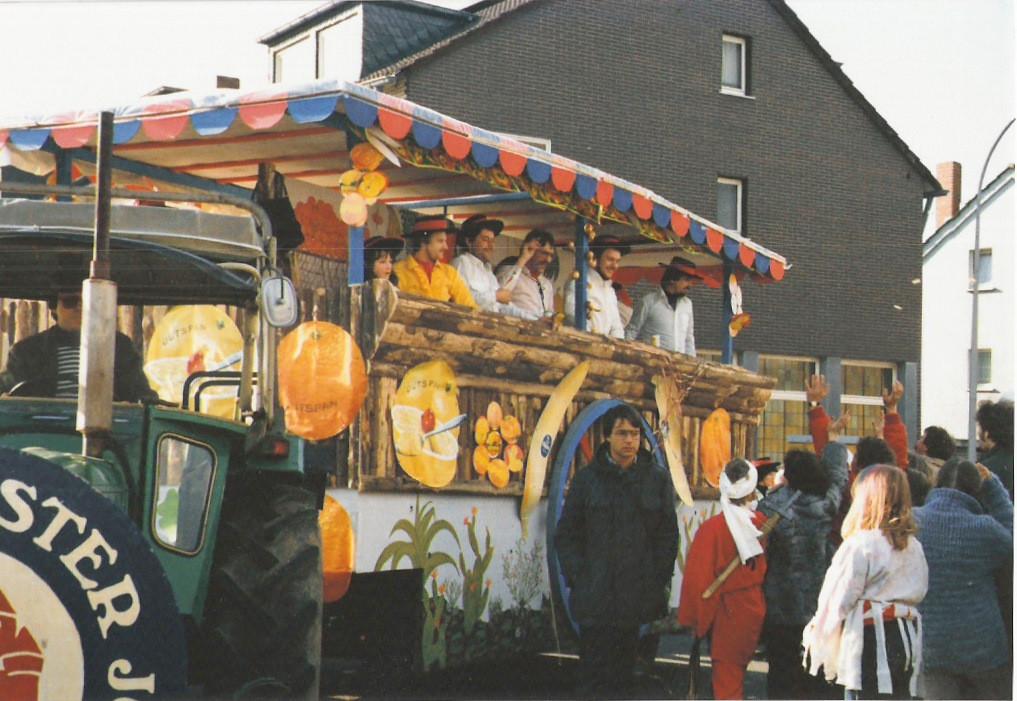 """Karnevalszüge 1981 """" Spanien olé """""""