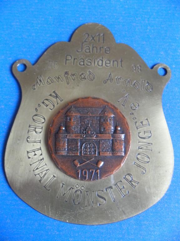 """1998 """"2x11 Jahre Präsident Manfred Arnold"""""""