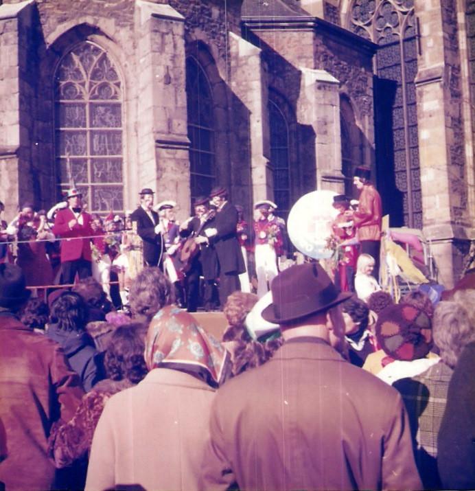 Unsere erste Marktsitzung 1977