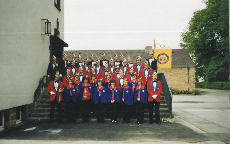 Vereinsfoto 1985