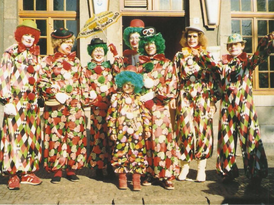 """Karnevalszüge 1982 """"11 Jahre Orjenal Mönster Jonge"""""""