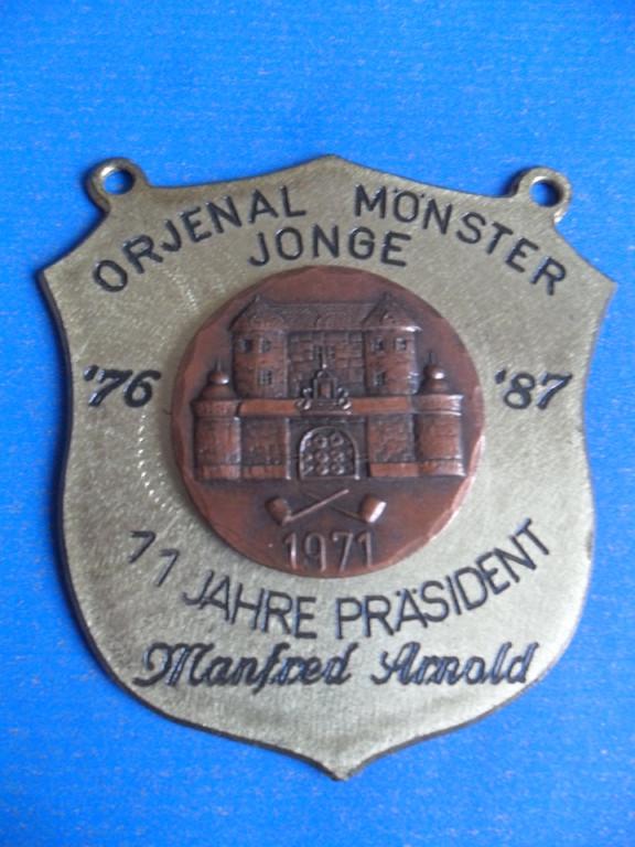 """1987 """"11 Jahre Präsident Manfred Arnold"""""""