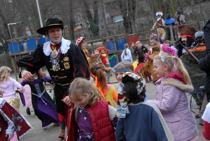 Der Besuch der Grundschule in Kornelimünster Fettdonnerstag 2007