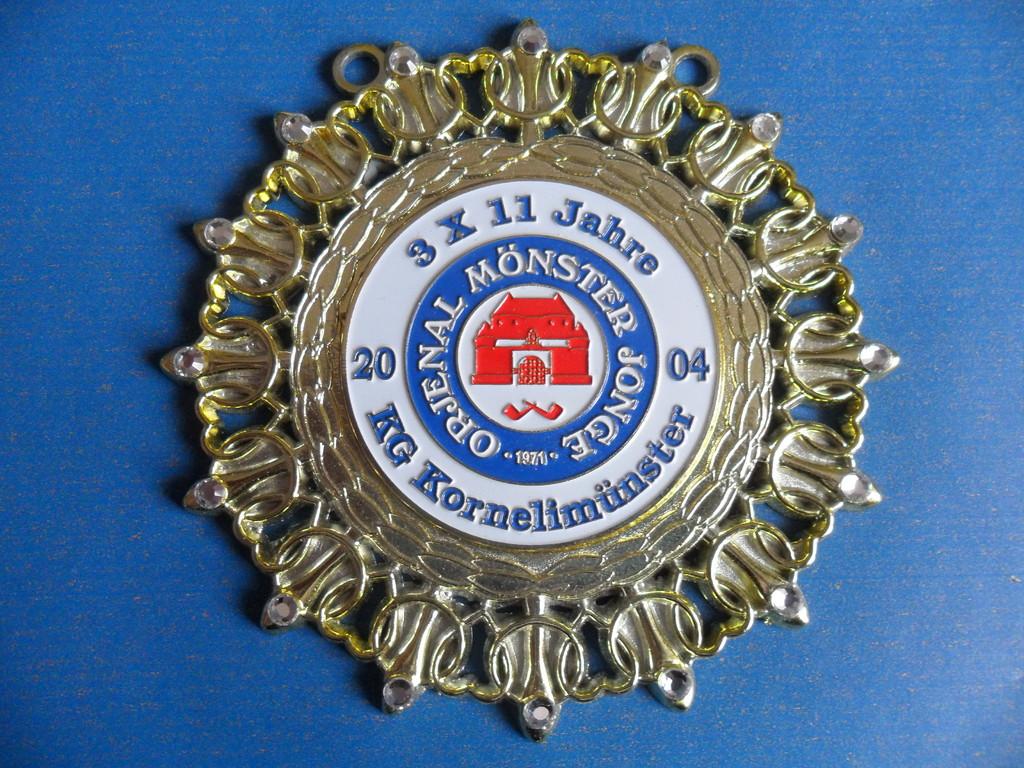 """2004 """"3x11 Jahre KG Orjenal Mönster Jonge"""""""