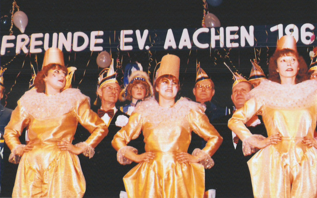 "Unterwegs in der Session 1984 / 1985 Showtanz ""Harlekin"""