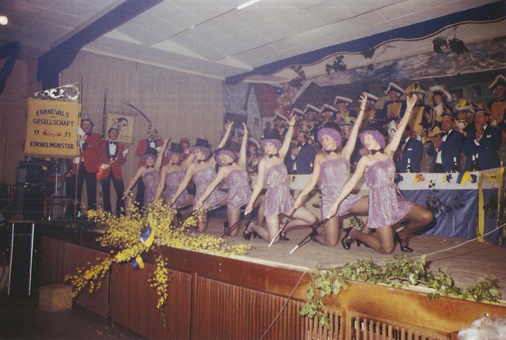 """Showtanz 1981 """"Magierinnen"""""""