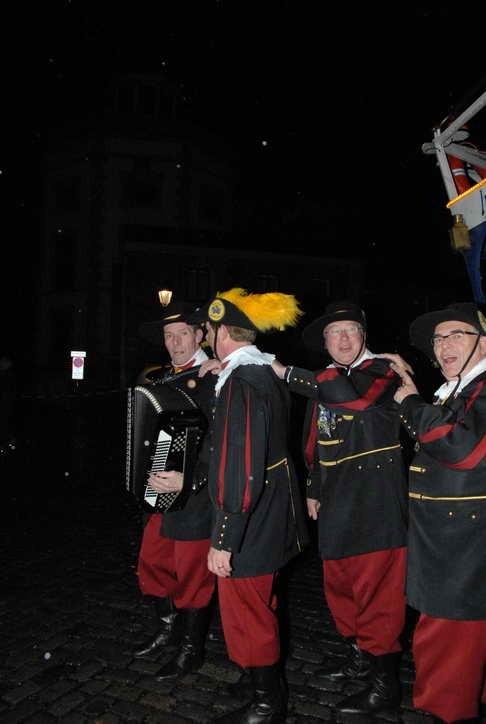 Empfang der Blauw Sjuut aus Heerlen 2007