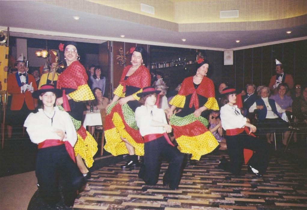 "Juxtanz 1981 ""Spanien olé"""