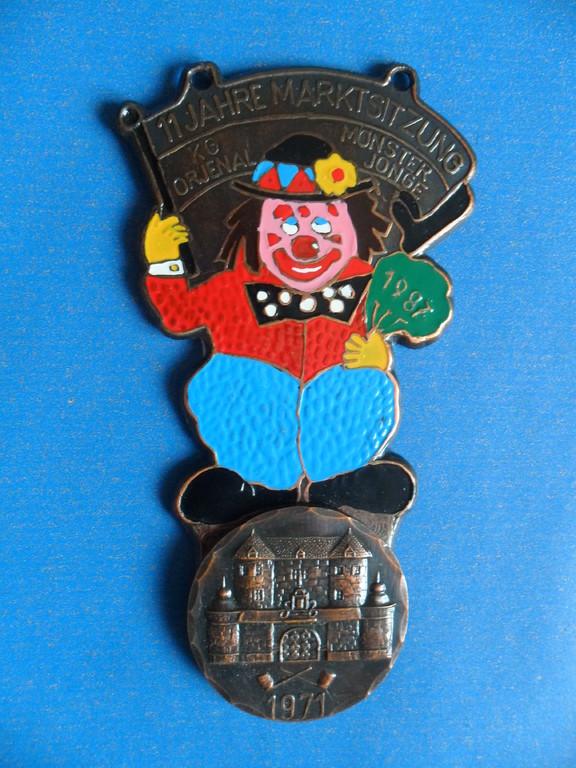 """Session 1987 """"Clown 11 Jahre Marktsitzung"""""""