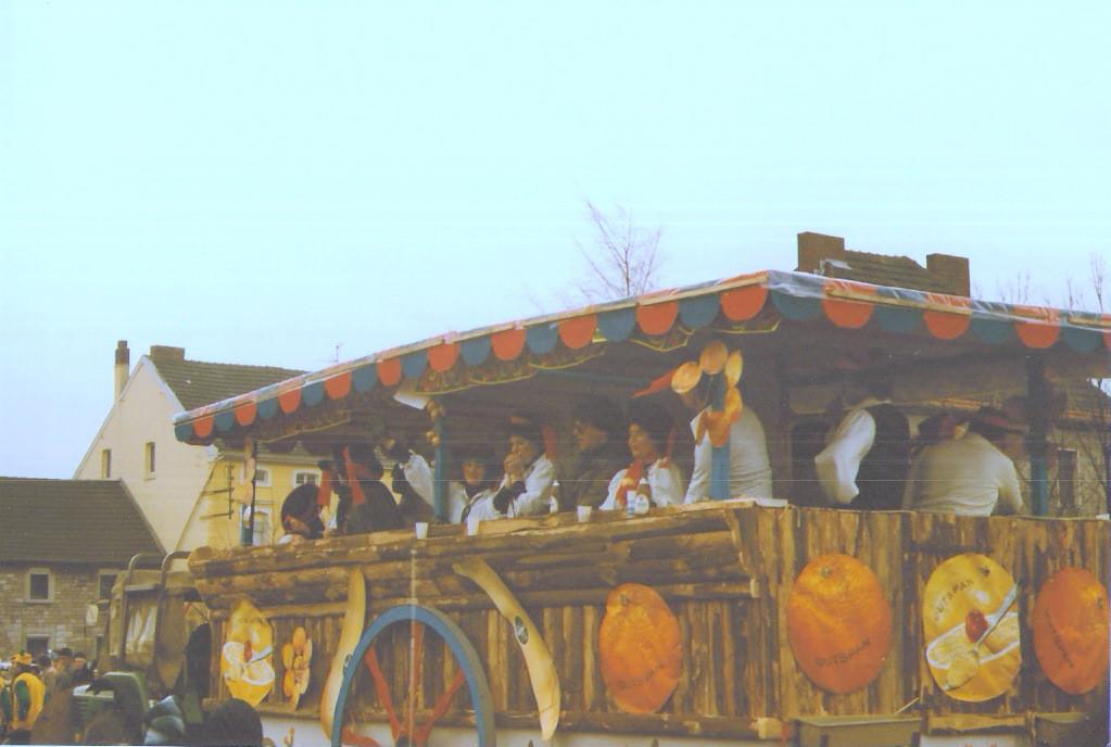 """Karnevalszüge 1981 """" Spanien olé"""""""