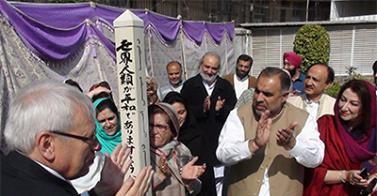 Pole at Khyber Paktunkhwa. Pakistan